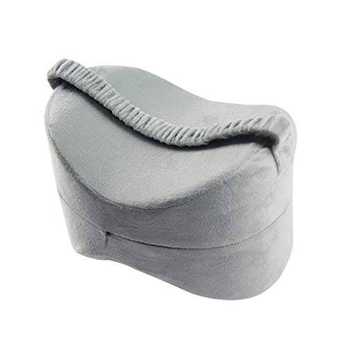 baoblaze cuscino ginocchio donne di maternit gamba di gravidanza allevia affaticamento - grigio, 25,5  18  18 cm