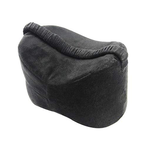 hellery cuscino al ginocchio con zeppa per donne in gravidanza, coscia dell'anca e sollievo affaticamento articolare - nero, 25,5  18  18 cm