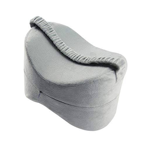 hellery cuscino al ginocchio con zeppa per donne in gravidanza, coscia dell'anca e sollievo affaticamento articolare - grigio, 25,5  18  18 cm