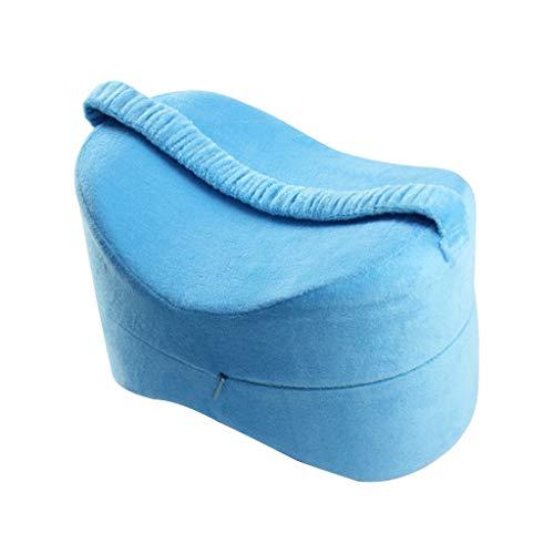 baoblaze cuscino ginocchio donne di maternit gamba di gravidanza allevia affaticamento - blu, 25,5  18  18 cm