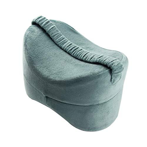 hellery cuscino al ginocchio con zeppa per donne in gravidanza, coscia dell'anca e sollievo affaticamento articolare - lago blu, 25,5  18  18 cm