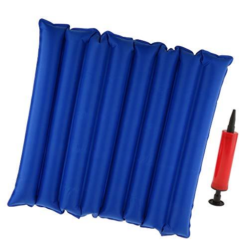 hellery cuscino della sedia a rotelle gonfiabile del cuscino di sede dell'aria delle emorroidi blu con la pompa