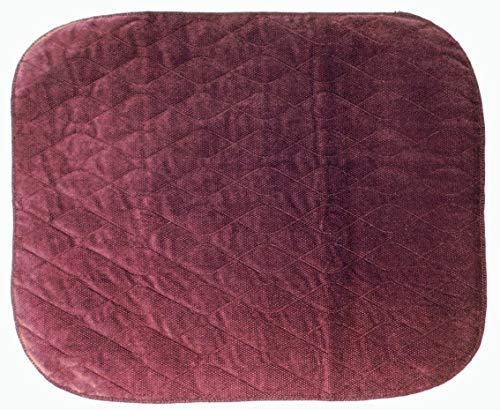 comfortcare cuscinetto per incontinenza da sedia a rotelle, di comfortcare, colore bordeaux