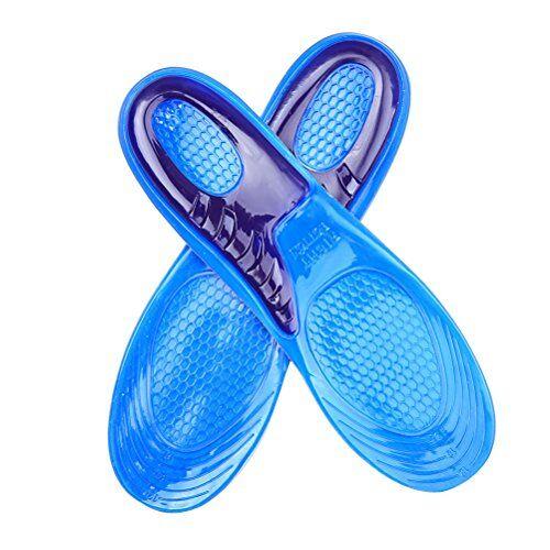 healifty solette in silicone per silicone solette per scarpe per cuscinetti da corsa running s 1pair(37-39)