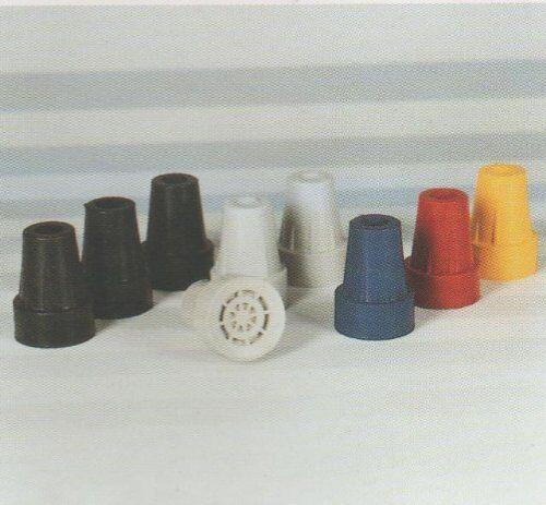 stock stampella capsula 16mm in nero
