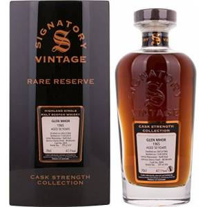 Signatory Vintage Glen Mhor Rare Reserve 50 Years Old Cask Strength Collection 1965-700 ml