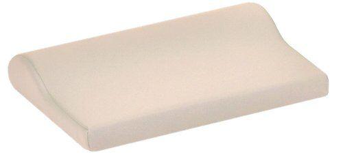earthlite bolster - cuscino di supporto cervicale, colore: panna
