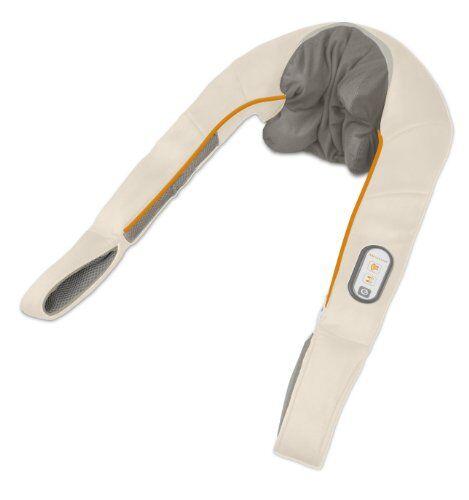 medisana nm 860 massaggiatore shiatsu per il collo con funzione termica, massaggiatore per le spalle con 4 teste massaggianti, lavabile con 2 regolazioni di rotazione, rilassamento per collo e spalle