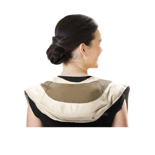 attec, cuscino massaggiante per collo, spalle e schiena, 39 programmi, 12 livelli di intensit, 45 w, peso: 2,4 kg