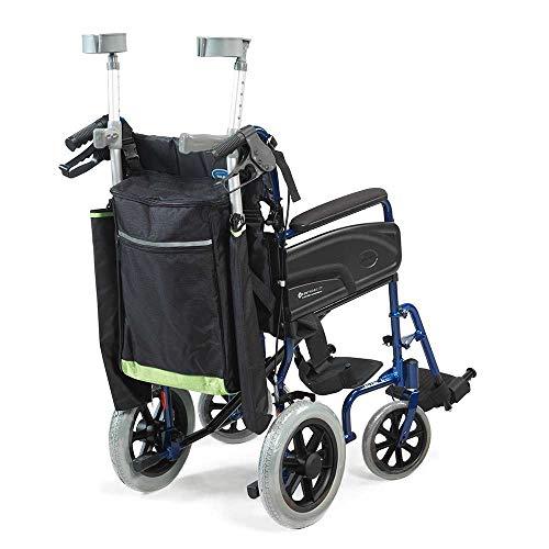 nrs healthcare - monopattino riflettente per sedia a rotelle