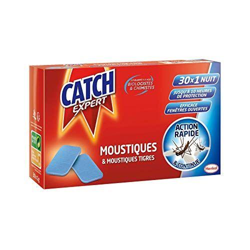 catch  tablet ricarica antizanzare 30 x 1 notte  set di 2