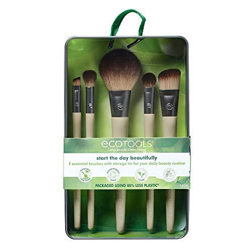ecotools, set di pennelli per make up inizia la giornata meravigliosamente