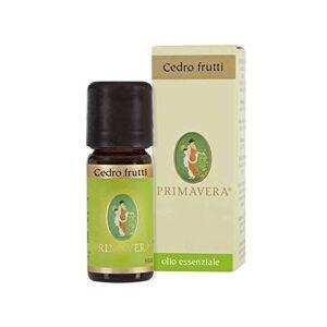 Flora Olio Essenziale di Cedro Frutti, Aroma Naturale per Alimenti - 10 ml