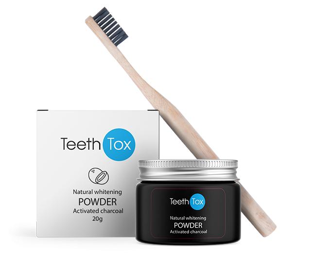 sensilab teethtox - sbiancante per denti in polvere, 20 gr.