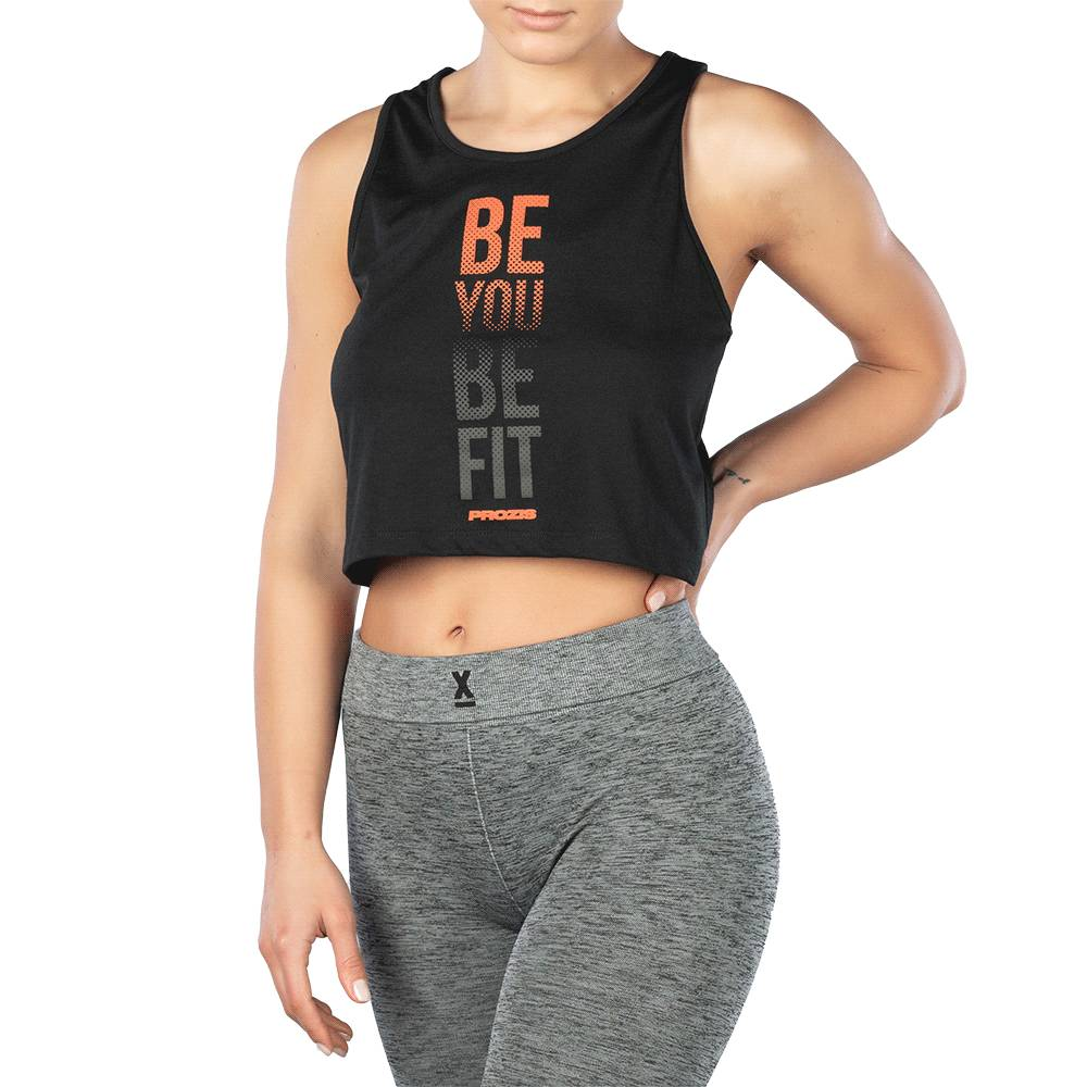 Prozis Power Up Crop Top - Be You Be Fit