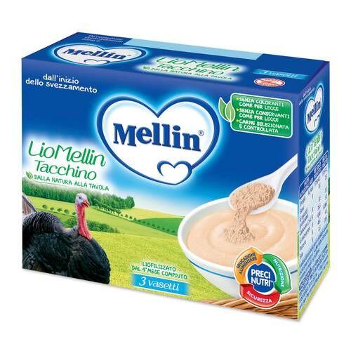 Mellin Spa Liomellin Liofilizzato Tacchino 3x10 G