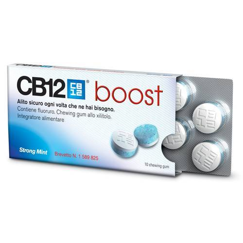Meda Pharma Spa Cb12 Boost 10chewing-Gum