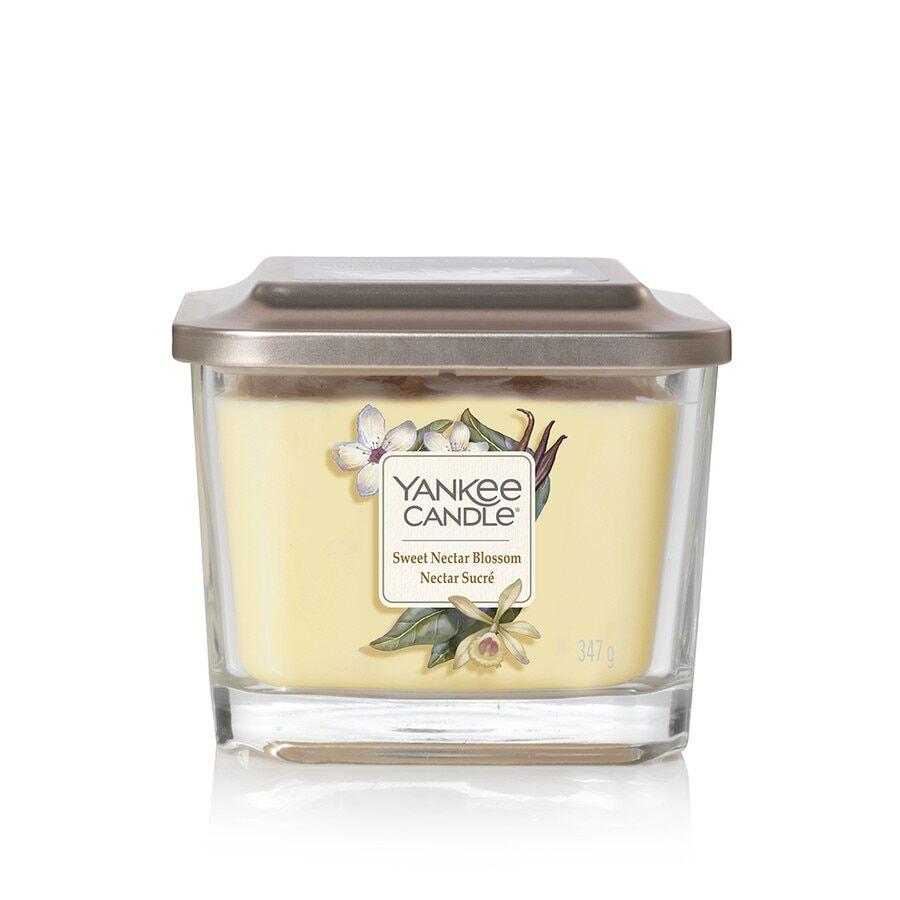 Yankee Candle Media 3 Steppini Candele Profumate Sweet Nectar Blossom Candela 347g