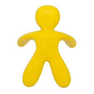 Mr&Mrs Fragrance Profumazione auto Cesare Blister Yellow Vanilla Profumatore Auto