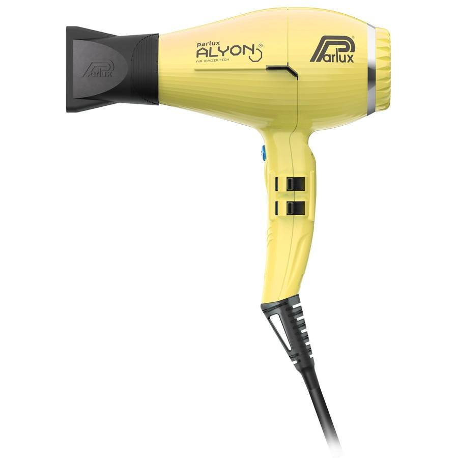 Parlux Alyon Hairdryer Giallo  ALYON® Air Ionizer Tech Asciugacapelli