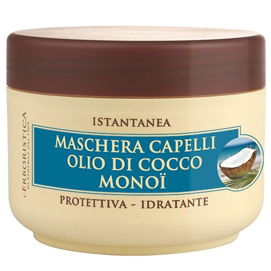 athena's maschera capelli olio di cocco & monoi maschera capelli 200ml