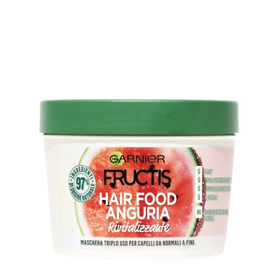 garnier fructis hair food arricchito con anguria maschera capelli 390ml