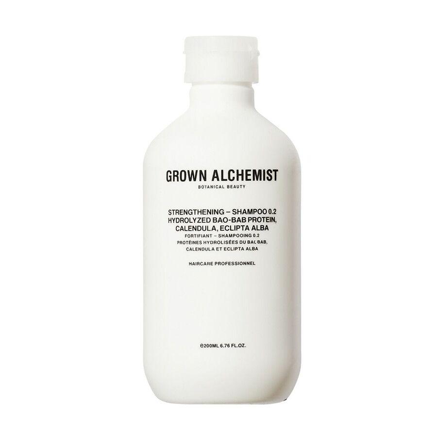 Grown Alchemist Strengthening Shampoo - Hydrolyzed Bao-Bab Protein, Calendula, Eclipta Alba Shampoo Capelli 200ml