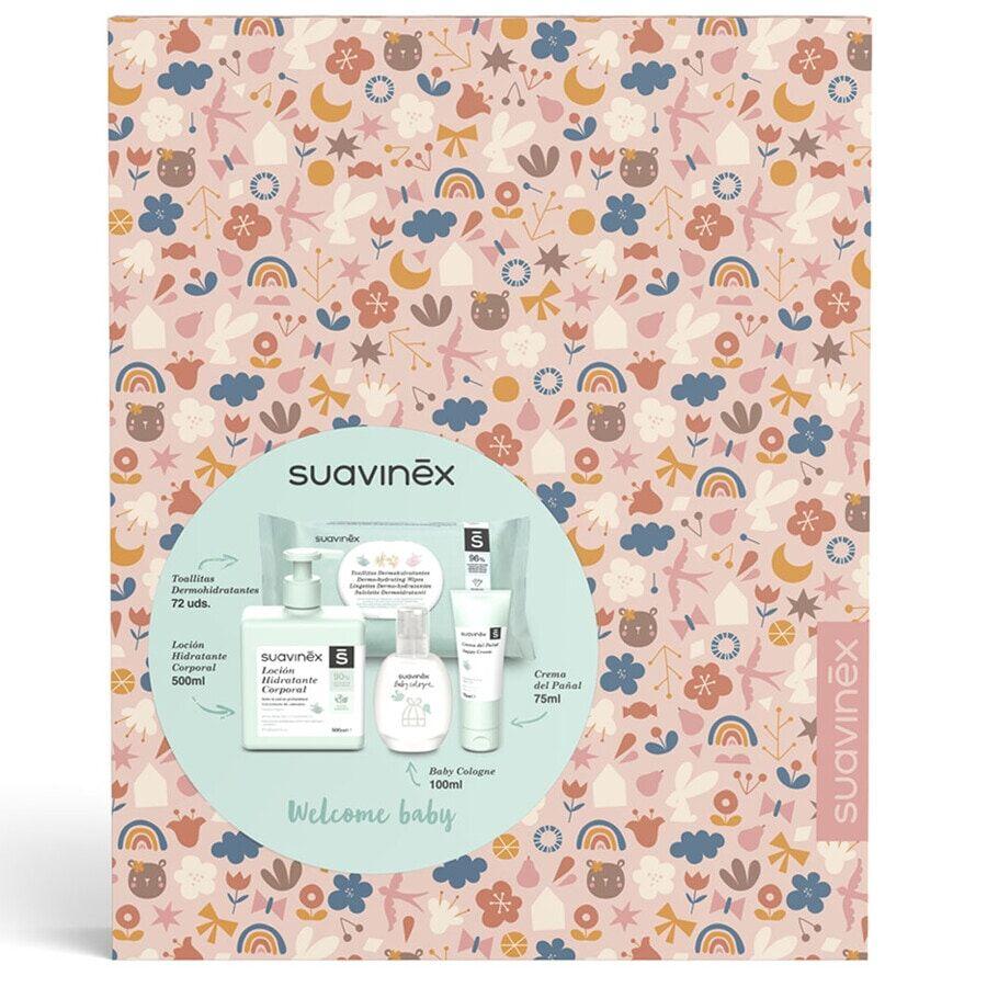 Suavinex Welcome Box Cosmetica Girl Cofanetto Corpo e Bagno