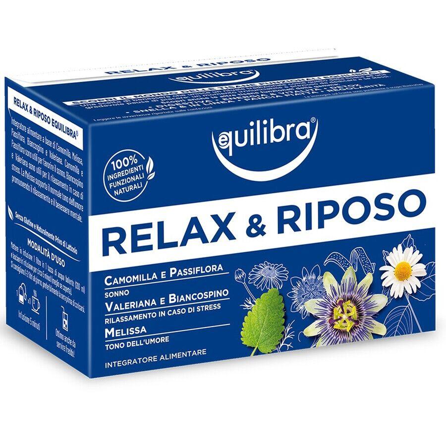 Equilibra Tisana Relax e Riposo 30g