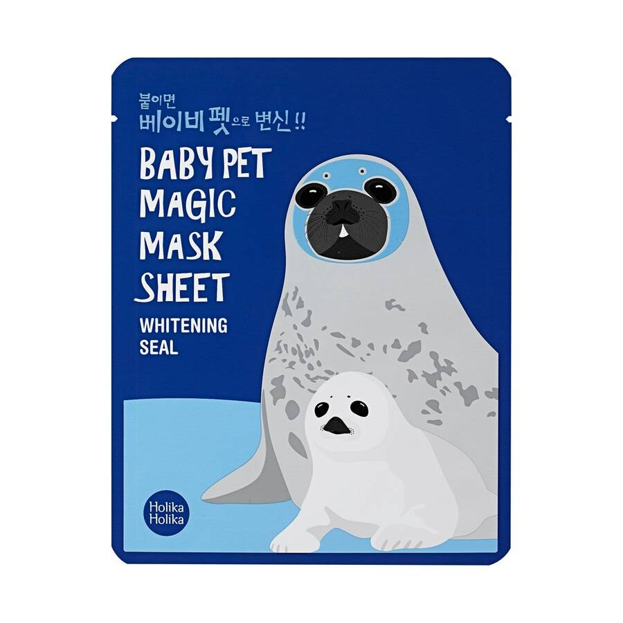 holika holika baby pet magic mask sheet (seal) maschera viso 22ml