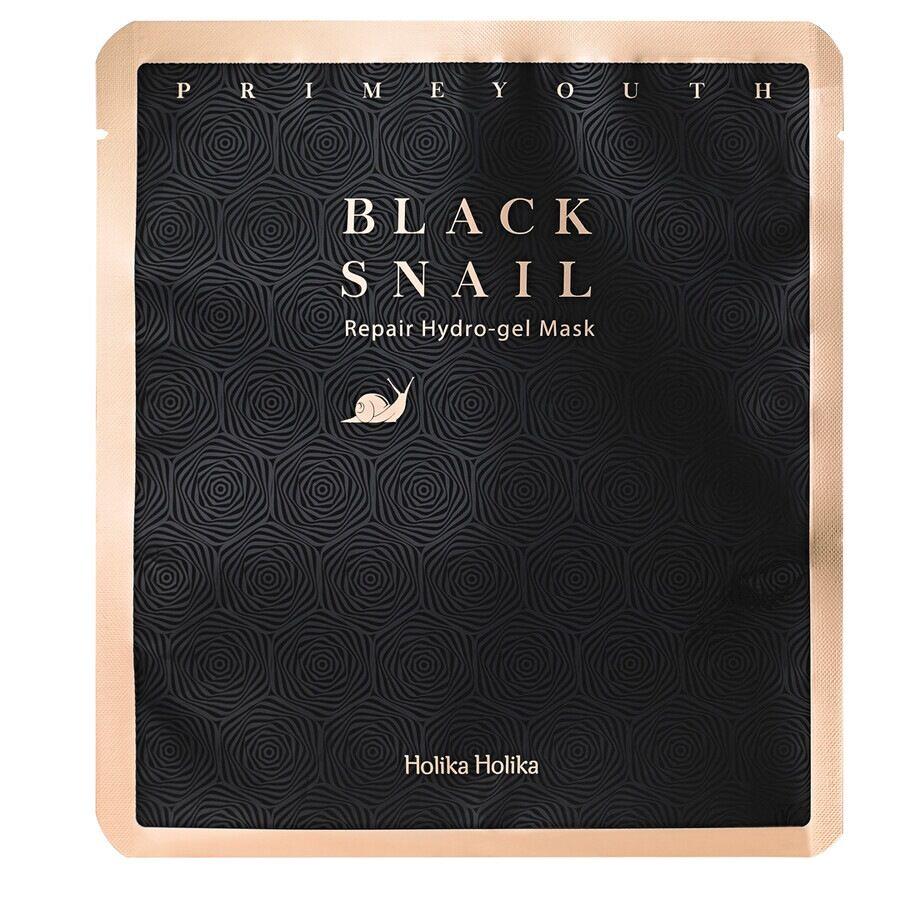 holika holika prime youth black snail repair hydro gel mask maschera viso 25g