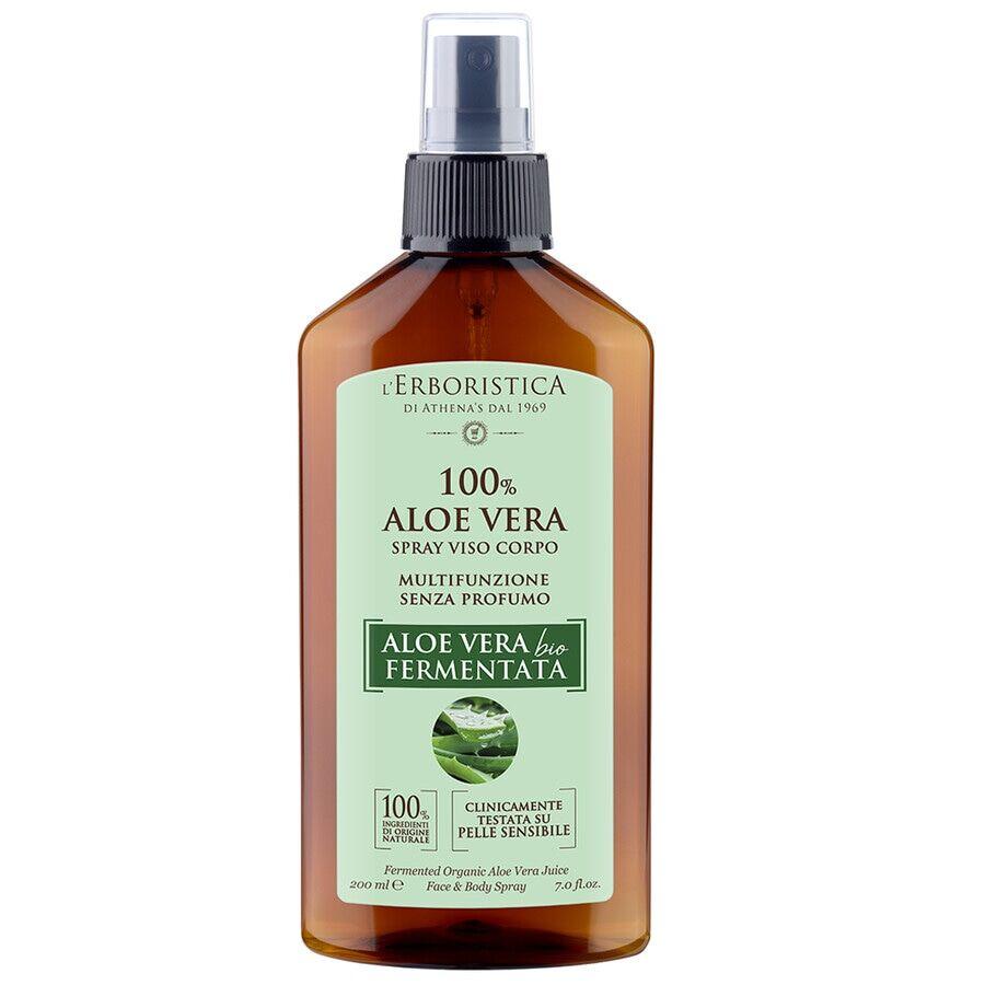athena's acqua spray 100% aloe bio fermentata spray corpo 200ml
