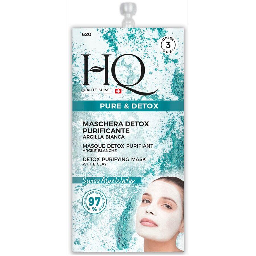 hq maschera purificante e detossificante naturel maschera viso 15ml