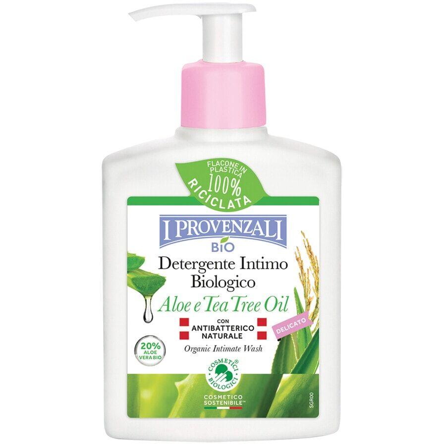 i provenzali detergente intimo aloe e tea tree oil bio 200ml