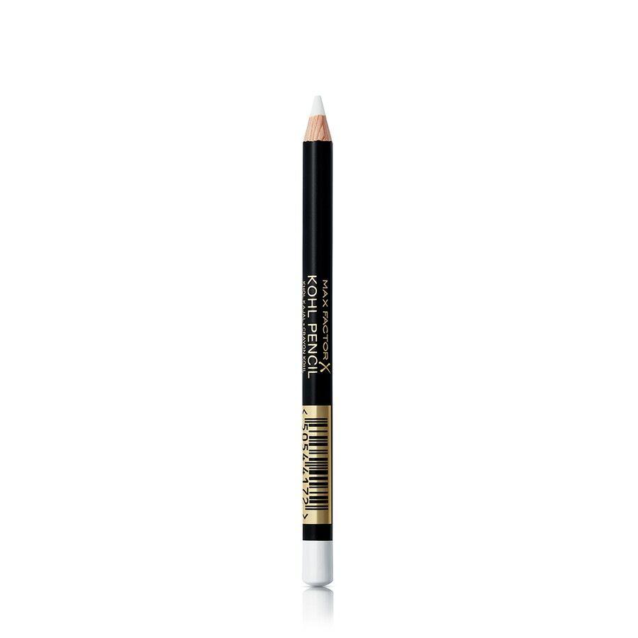 max factor 010  white kohl eyeliner pencil matita occhi 4g