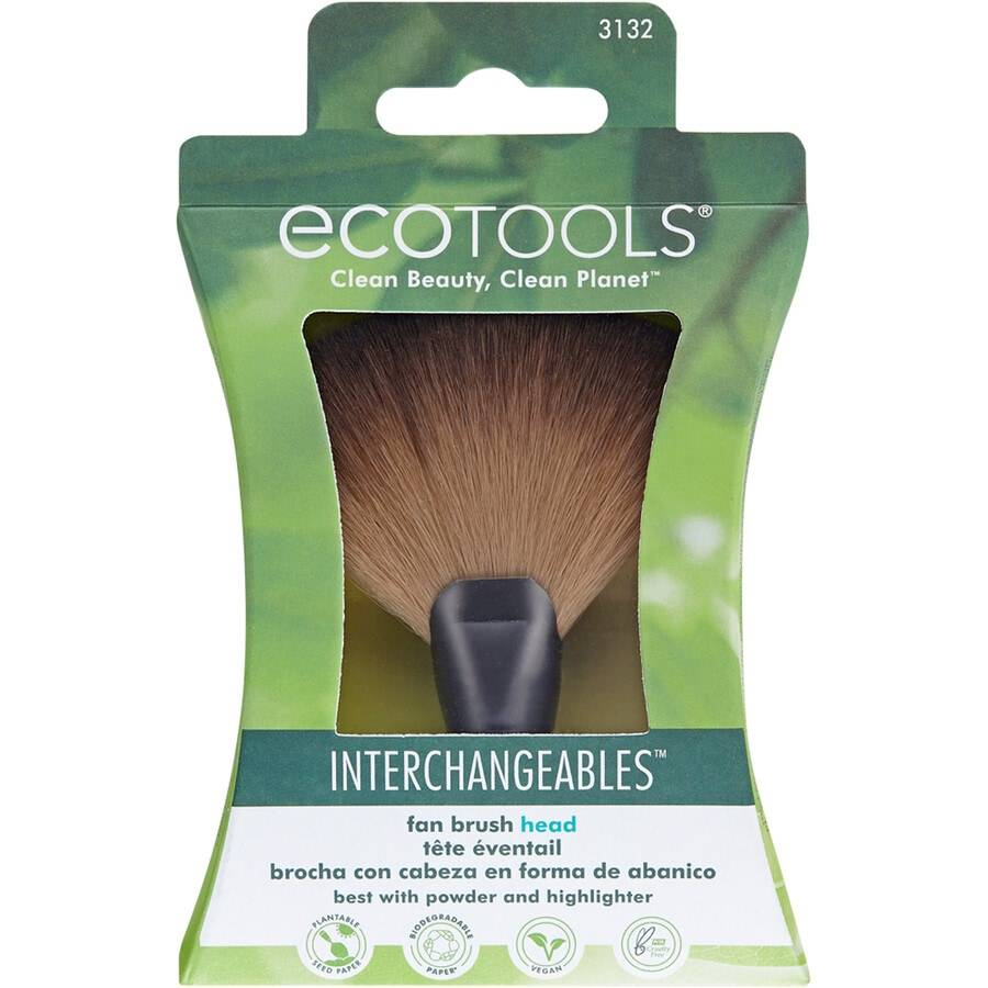 ecotools fan head pennello make up 19g