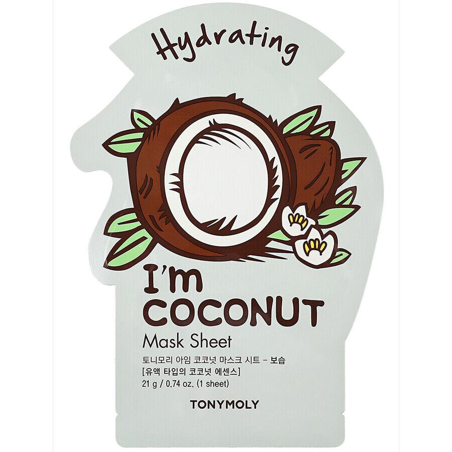 tonymoly i´m coconut mask sheet maschera viso