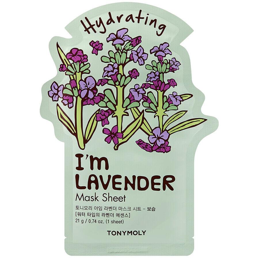 tonymoly i´m lavender mask sheet maschera viso