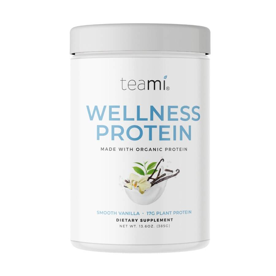 teami wellness protein vanilla integratore alimentare 385g
