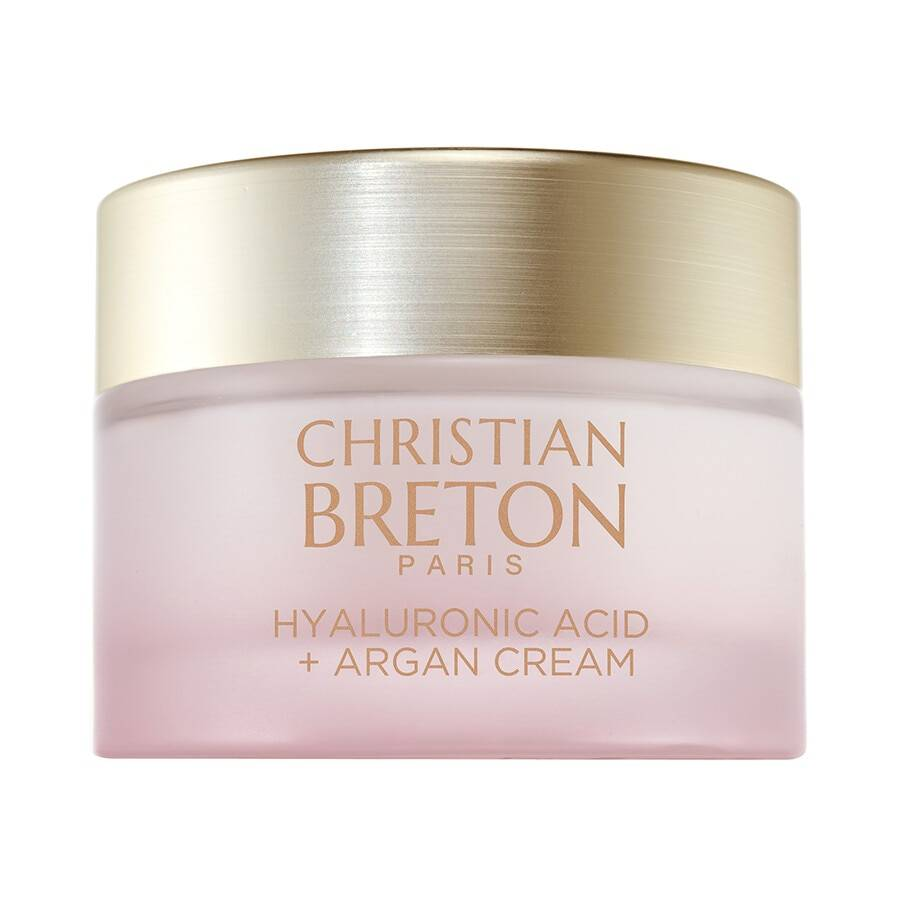 christian breton argan + acido ialuronico crema viso 50ml