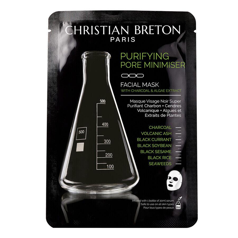 christian breton charcoal maschera viso