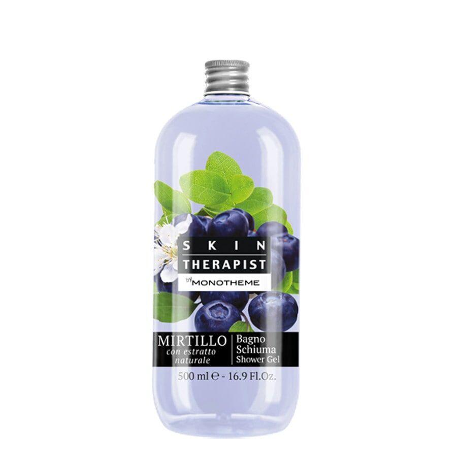 monotheme body shower shower gel mirtillo doccia shampoo 500ml