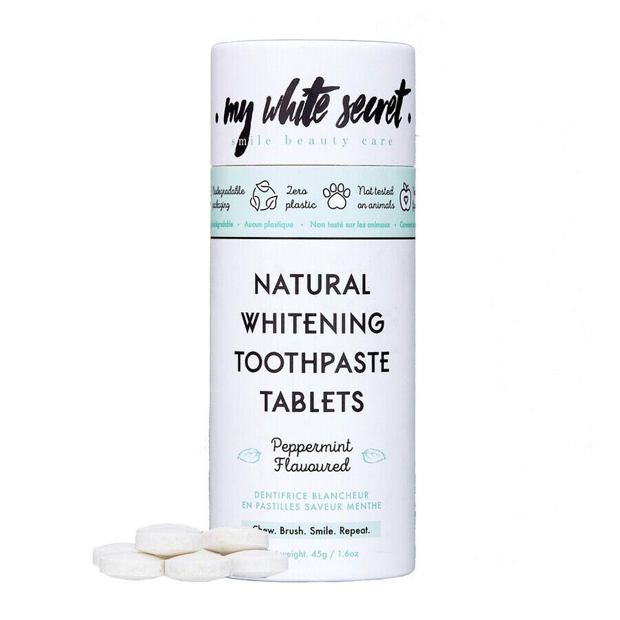 my white secret toothpaste tablets dentifricio