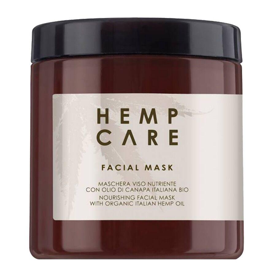 hemp care maschera viso nutriente con olio di canapa italiana bio 250ml