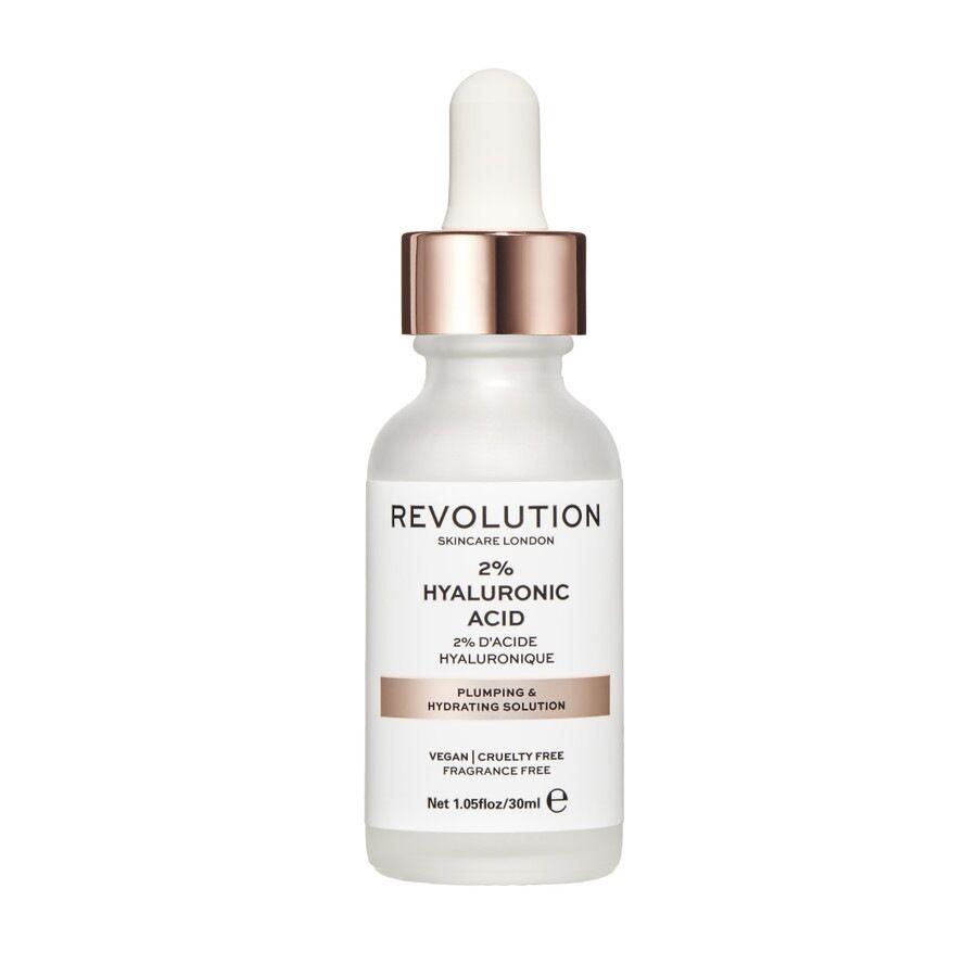 revolution skincare siero idratante e rimpolpante - 2% acido ialuronico 30ml