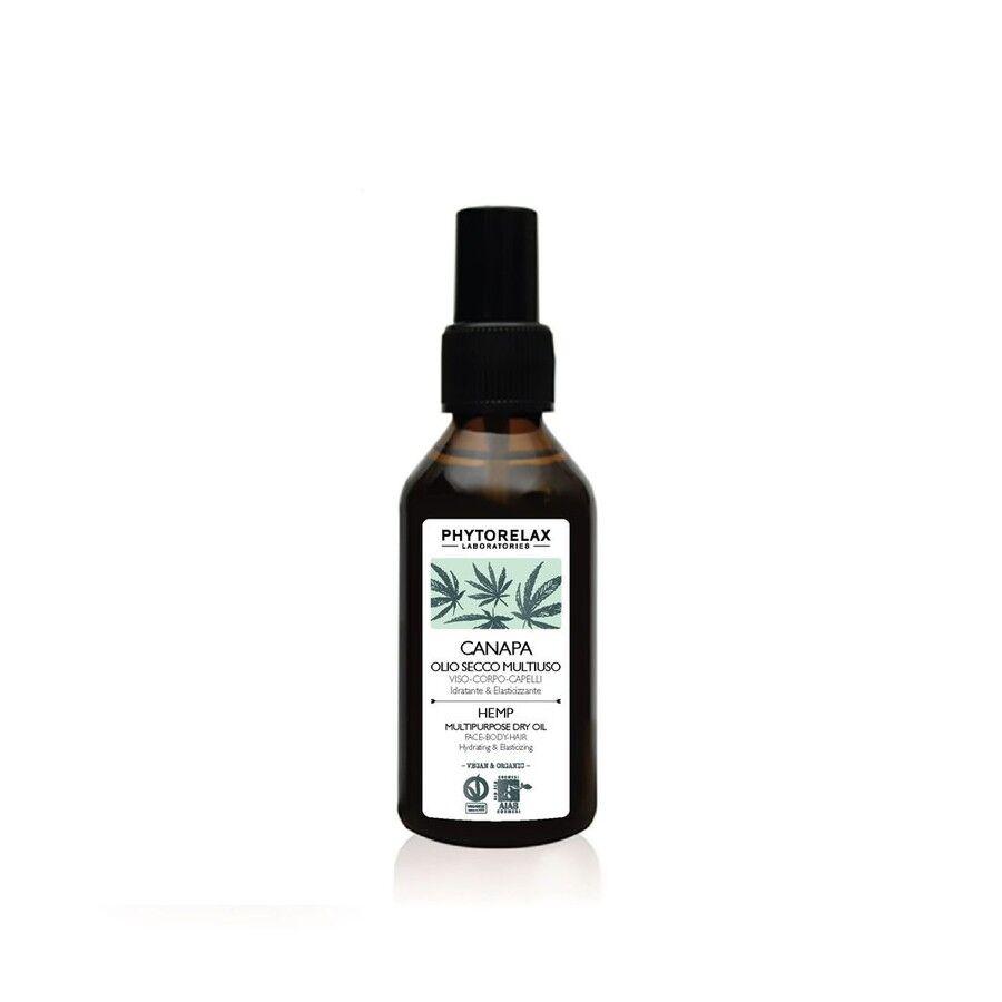 phytorelax olio alla canapa secco olio multiuso 100ml