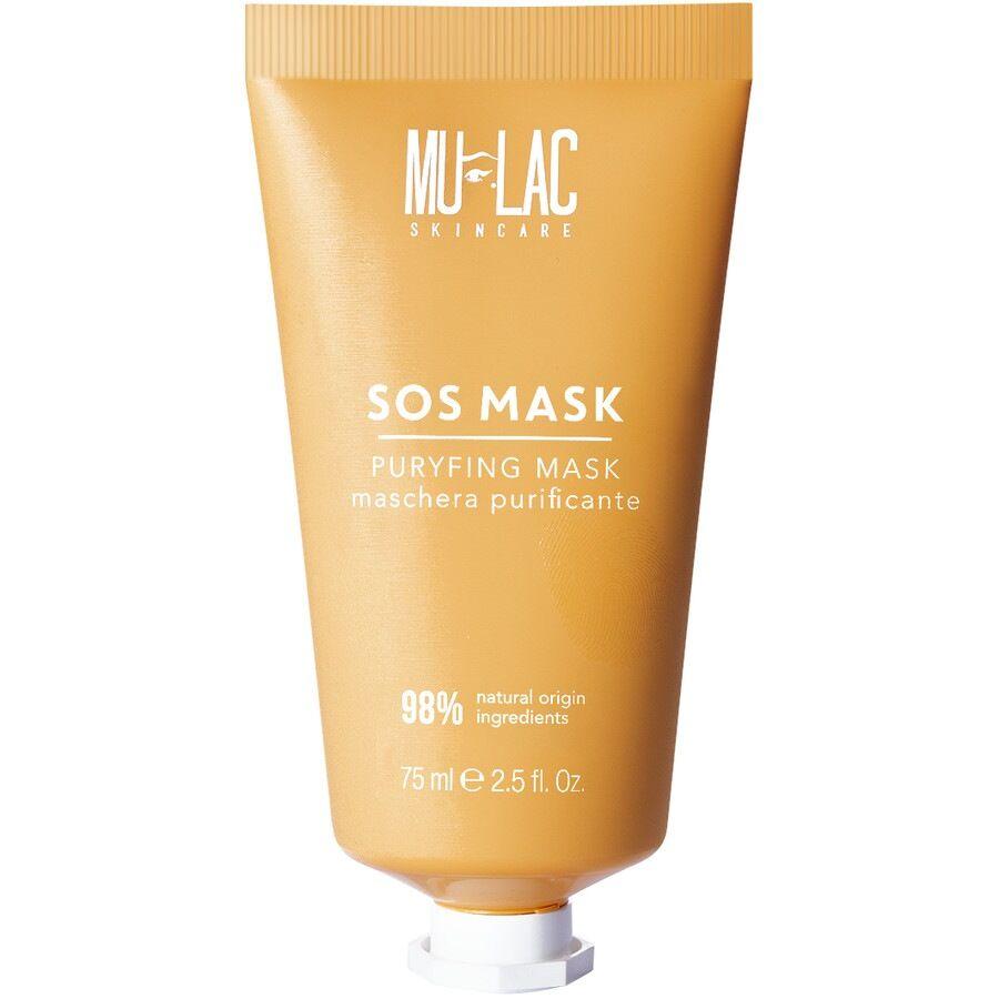 mulac cosmetics sos mask maschera viso purificante maschera 75ml