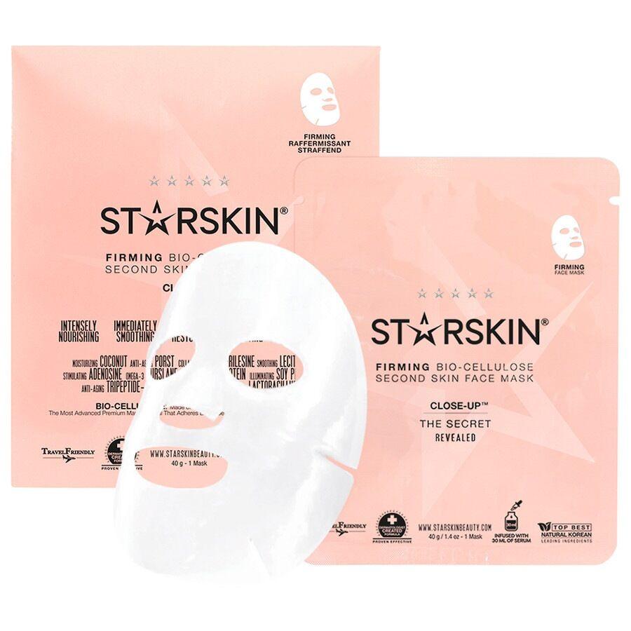 starskin® close-up™ close-up™ maschera viso rassodante seconda pelle in biocellulosa di cocco maschera 30ml