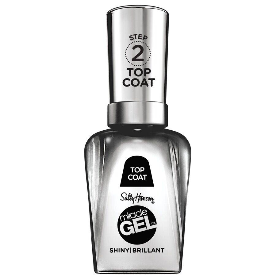 sally hansen top coat lucido miracle gel - top coat gel senza lampada uv 14.7 ml