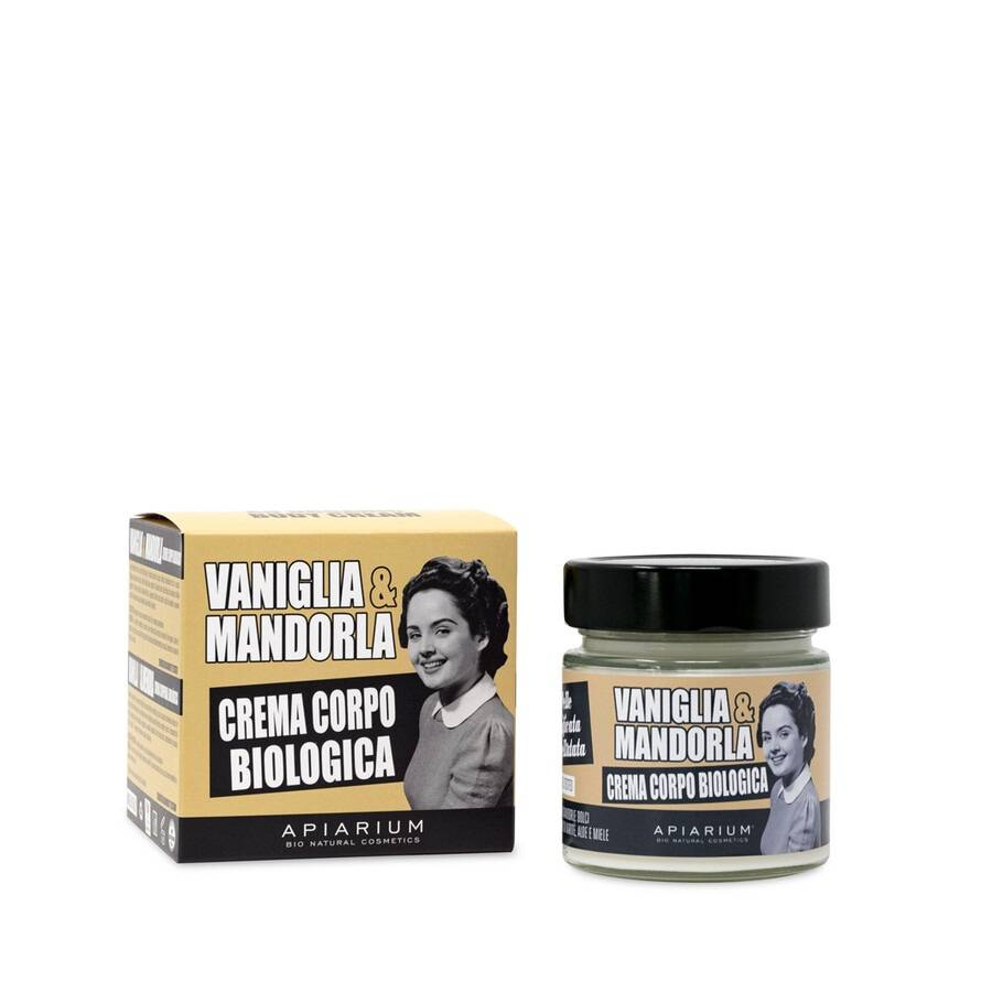 apiarium crema corpo bio vaniglia e mandorla 200ml